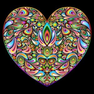 + Heart colorful