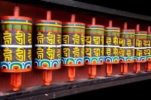 + Tibetan prayer wheels 11964968_s
