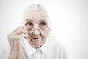+ Old woman Centenarian Dec 14 blog18656917_s