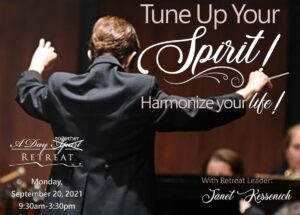 Tune Up Your Spirit! Harmonize Your Life! An In-person Retreat @ Rolling Ridge Retreat and Conference Center