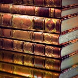 + books in a stack Classics Jan 2010 13406167_s