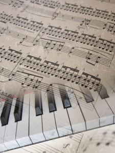 + keyboard and piano score Jan 15 16464565_s