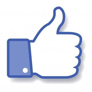 thumb up like