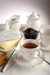 + tray of tea and toast Generosity May 2010 10352945_s